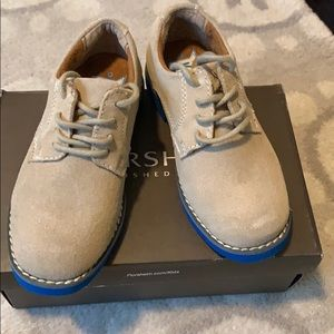 Florsheim suede lace ups...worn once! size 10